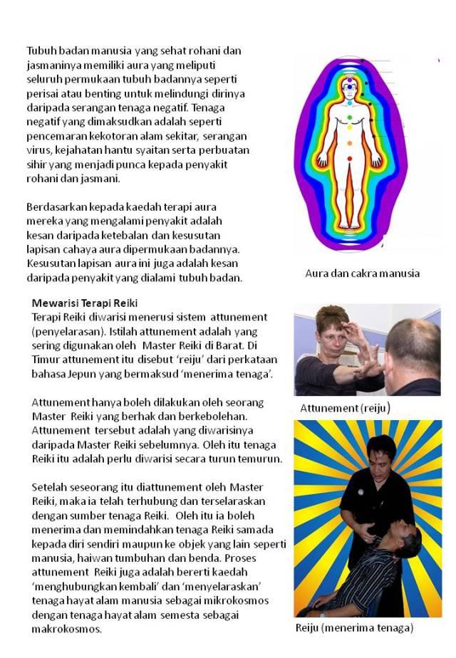 Brochure Aura Reiki