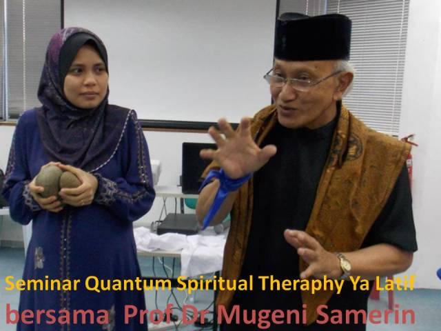 bersama Prof Dr Mugeni
