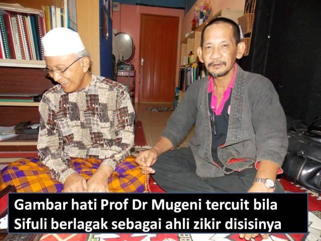 Gambar hati Prof Dr Mugeni tercuit