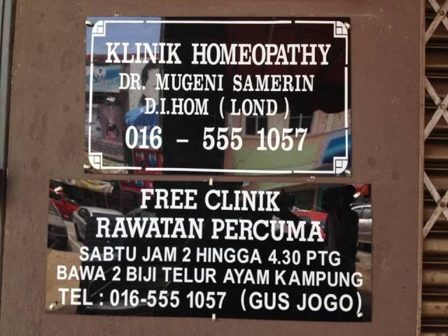 klinik Homeopathy Prof Dr Mugeni Samerin
