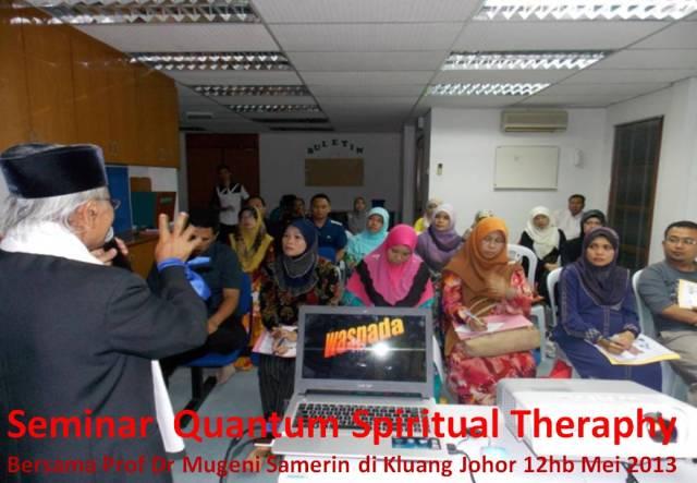 Seminar Quantum Spiritual Theraphy