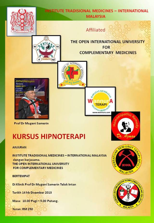 INSTITUTE TRADISIONAL MEDICINES – INTERNATIONAL 3